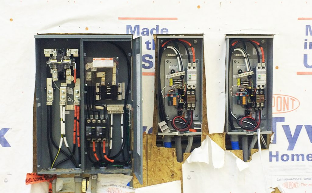 Services at A+ Electrical Contractors